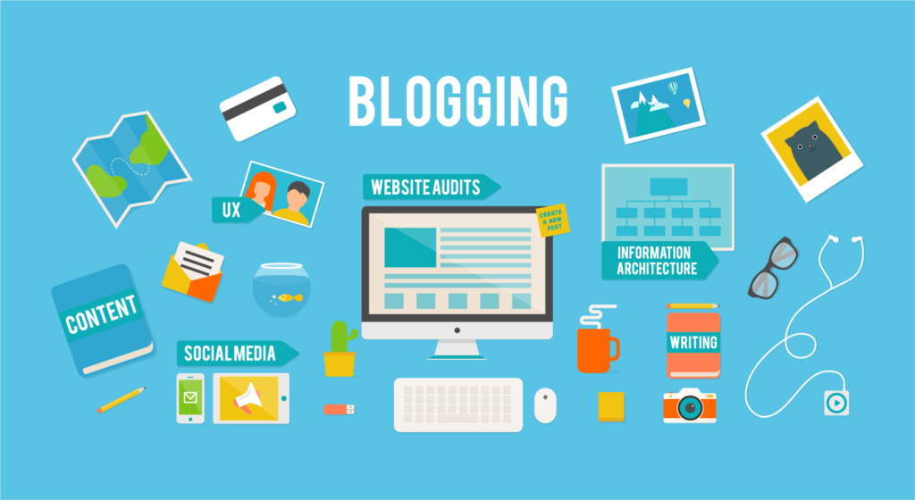 affiliate marketing + Blogging